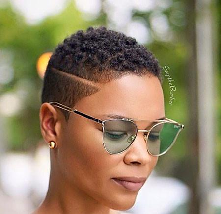 Short-Mohawk-Hairstyles-for-Black-Women Best Short Hairstyles for Black Women 2018 – 2019