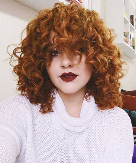 Short-Natural-Curly-Hair Popular Short Curly Hairstyles 2018 – 2019