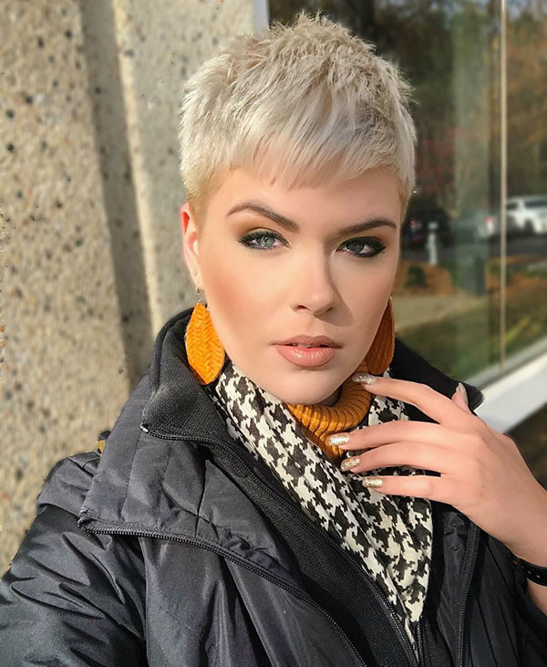 Short-Pixie-HairCut Best Pixie Cut 2019