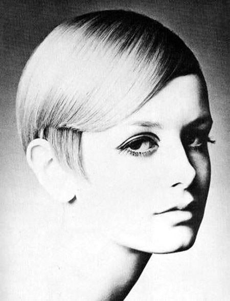 Short-Sleek-Hair 1960's Short Hairstyles