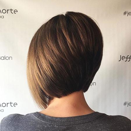 Short-Stacked-Bob Short Bob Haircuts 2019
