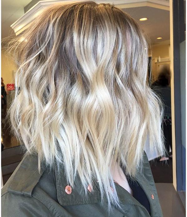 Short-Wavy-Fine-Hair Popular Short Wavy Hairstyles 2019
