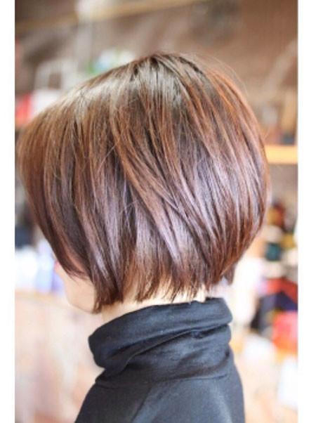 Simple-Bob-Cut Short Bob Haircuts 2019
