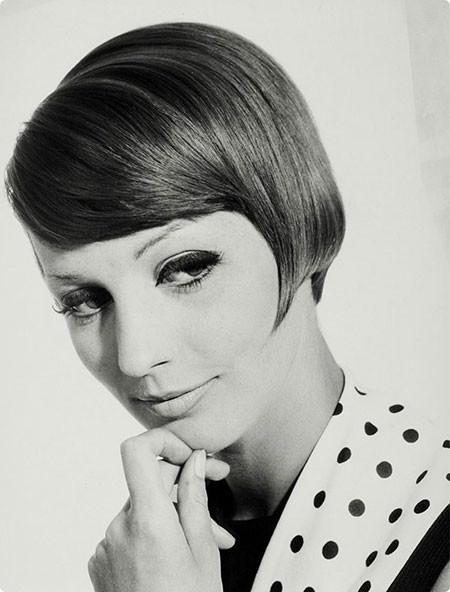 Sleek-and-Neat-Hair 1960's Short Hairstyles