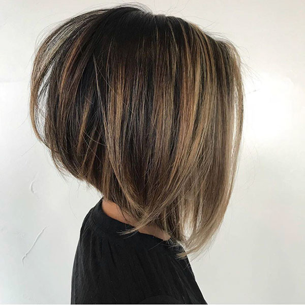 Stacked-Bob-Haircut-1 Best New Bob Hairstyles 2019