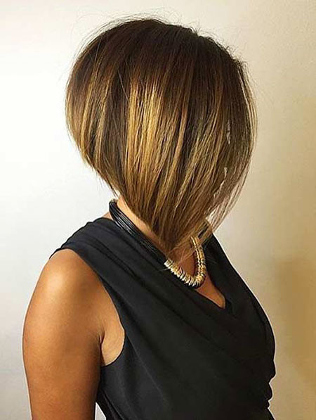 Stacked-Inverted-Bob Short Inverted Bob Hairstyles