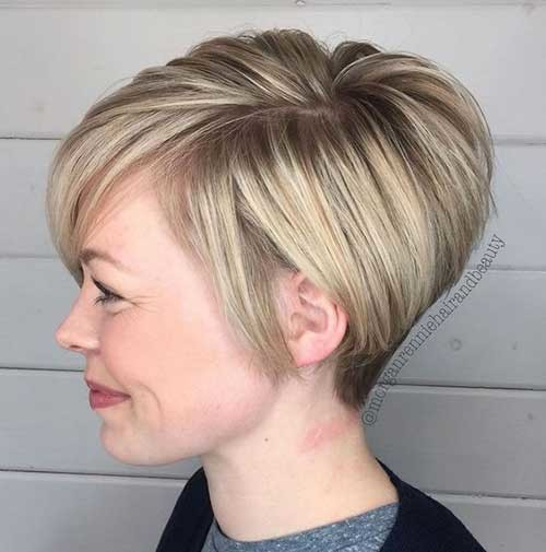 Stacked-Short-Haircut Charming Stacked Short Haircuts for Women
