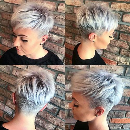 Straight-Layered-Pixie Short Layered Haircuts 2018 – 2019