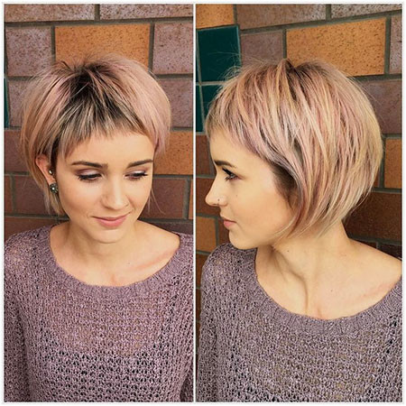 Stylish-Look Trendy Short Hairstyles 2019