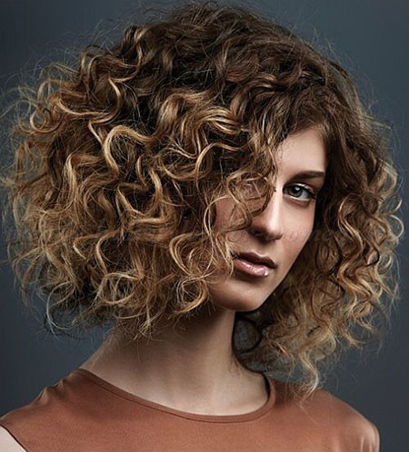 Thick-Short-Curly-Hair Popular Short Curly Hairstyles 2018 – 2019