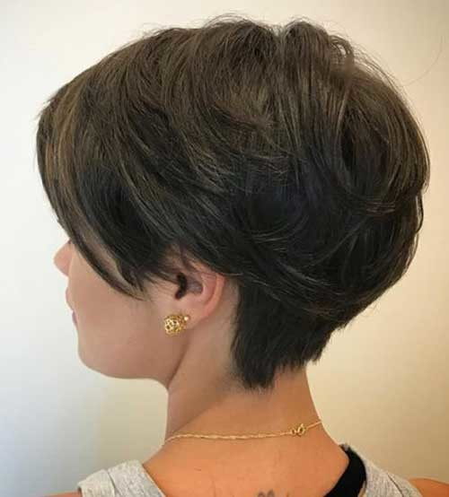 Thick-Short-Hair-2019 Best Short Haircuts for 2018-2019