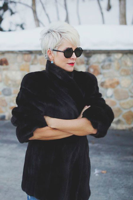 Trendy-Pixie-Hair-1 Best Pixie Haircuts for Over 50 2018 – 2019
