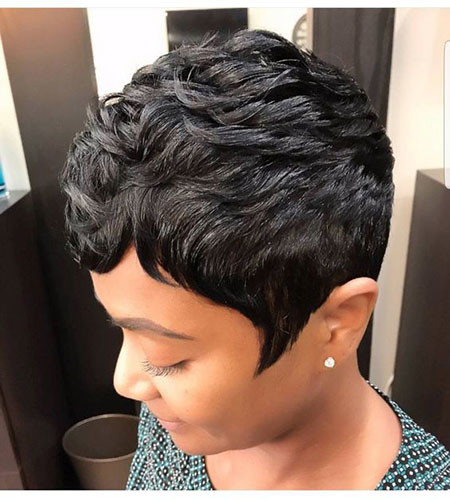 Unique-Short-Hair Best Short Pixie Hairstyles for Black Women 2018 – 2019