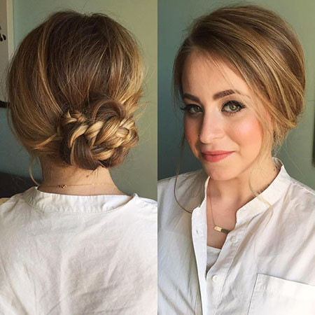 Updo-for-Thin-Hair Upstyles for Short Hair