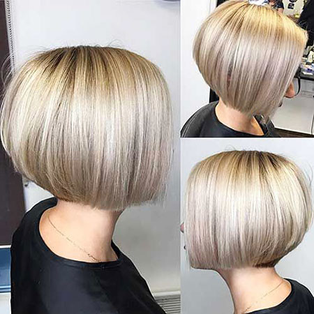 Very-Short-Sleek-Bob Short Bob Haircuts 2019
