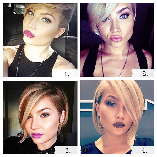 11-short-hair-with-side-swept-bangs Best New Short Hair with Side Swept Bangs