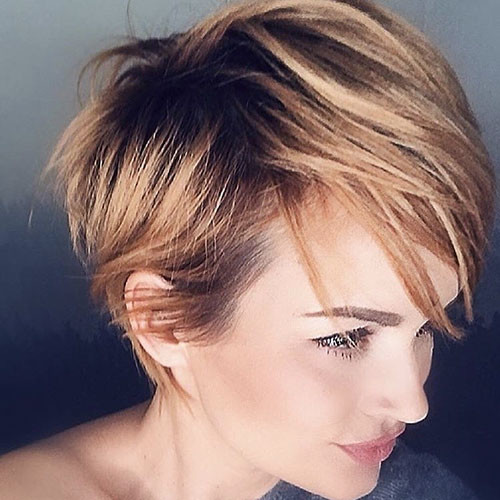 13-pixie-cut-with-side-swept-bangs Best New Short Hair with Side Swept Bangs