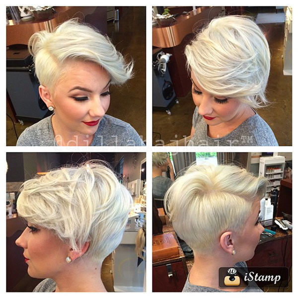 40-blonde-pixie-cut New Pixie Haircut Ideas in 2019