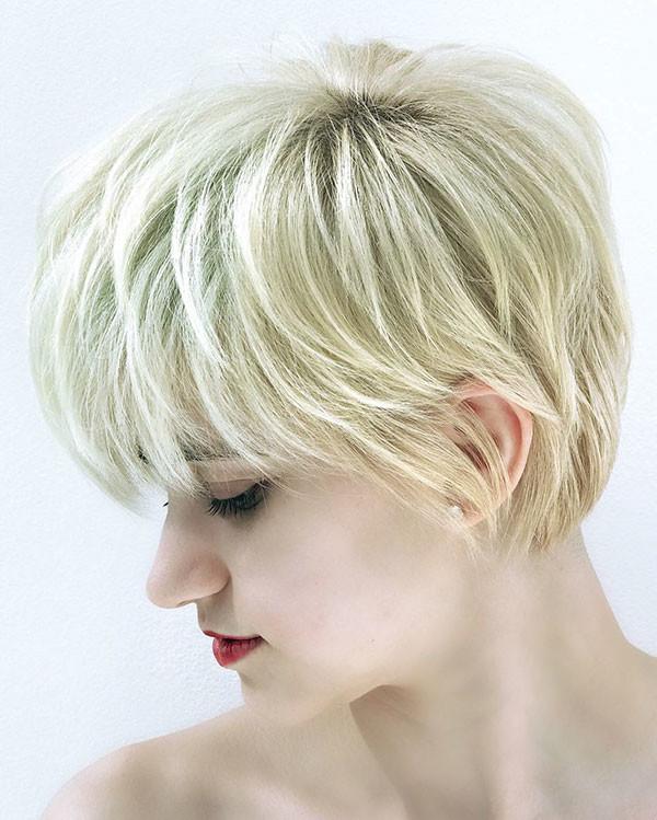 63-blonde-pixie-cut New Pixie Haircut Ideas in 2019