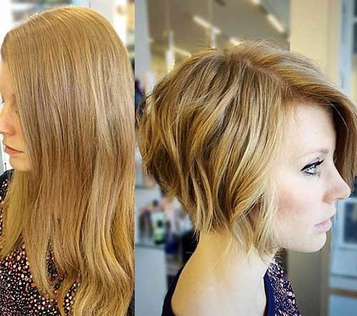 Before-and-After-Bob-Haircut Amazing Graduated Bob Haircuts for Modern Ladies