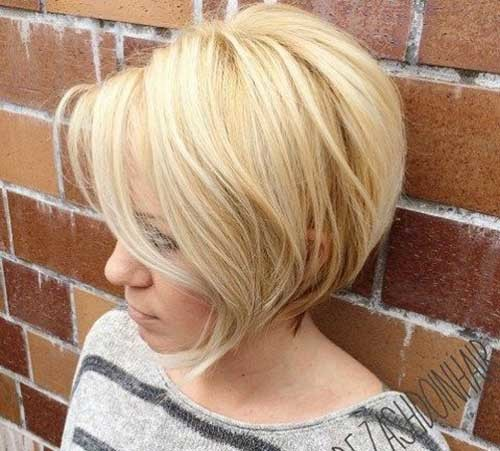 Blonde-Bob-Hair-1 Amazing Graduated Bob Haircuts for Modern Ladies