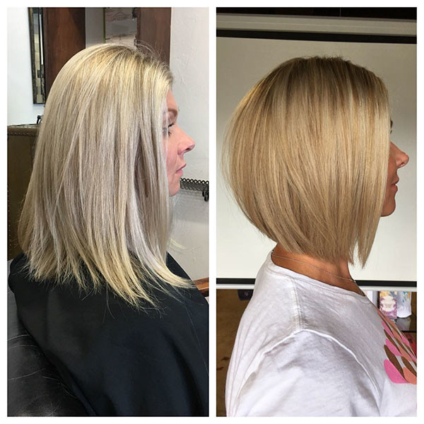 Blonde-Bob-Haircut-for-Thin-Hair Popular Bob Hairstyles 2019