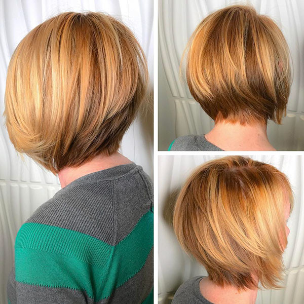 Blonde-Short-Bob-Cut New Best Short Haircuts for Women
