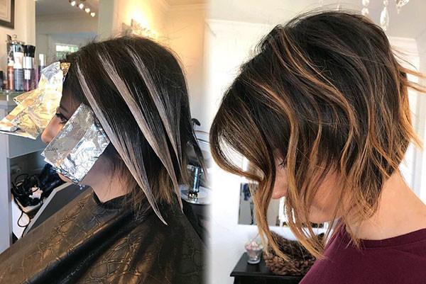 Bob-Hair-with-Highlights Popular Bob Hairstyles 2019