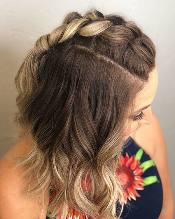 Braid-for-Blonde-Bob Amazing Braids for Short Hair