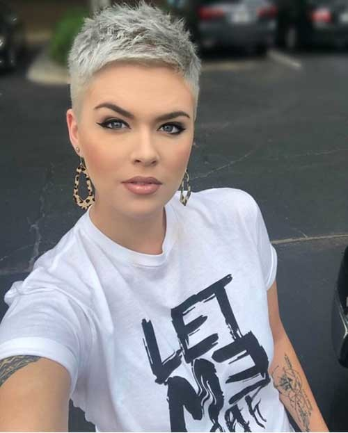 Buzz-Cut New Short Haircut Trends Women 2019