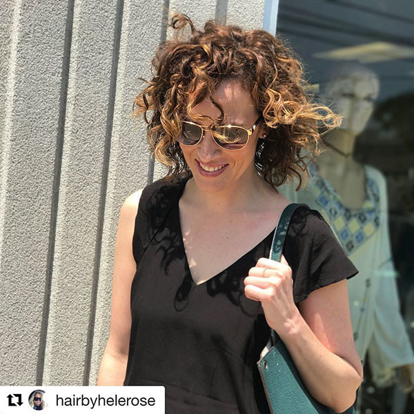 Casual-Curly-Short-Hairstyle Best Short Curly Hair Ideas in 2019