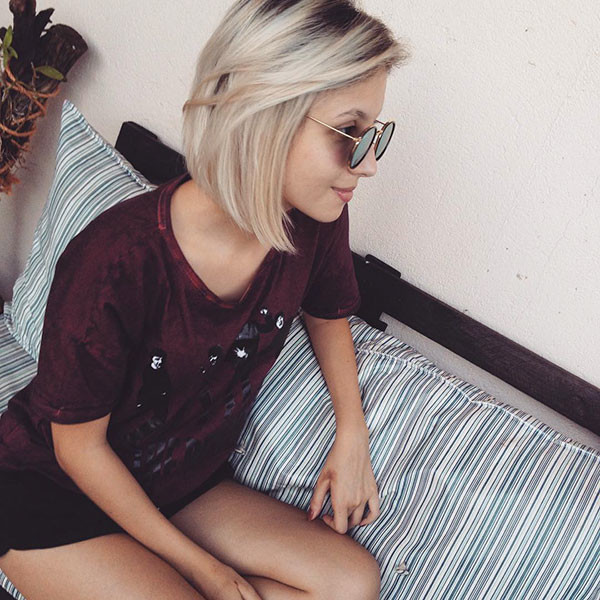 Chic-Style Beautiful Short Hair for Girls