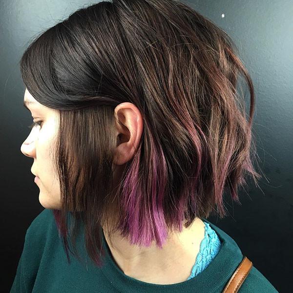Choppy-Texture Beautiful Short Hair for Girls