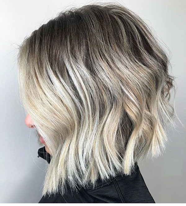 Cool-Bob-Cut-2019 New Short Blonde Hairstyles