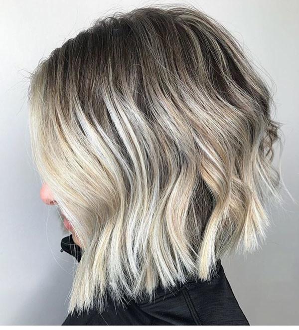 Cool-Bob-Cut-2019 New Short Blonde Hairstyles