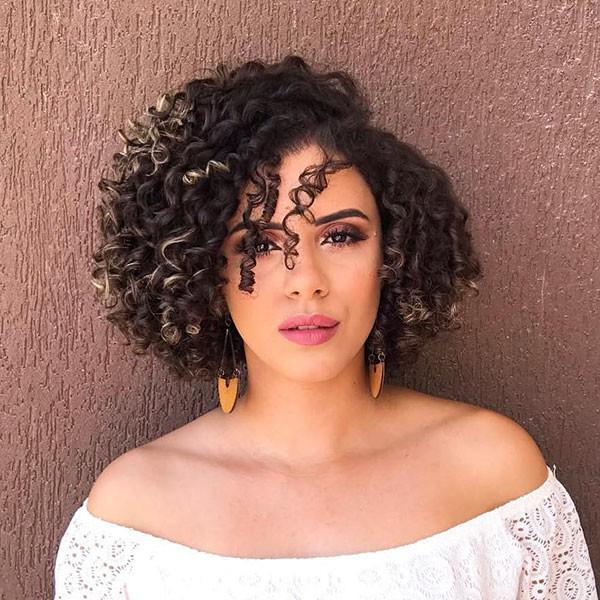 Curly-Bob-Cut-2019 Best Short Curly Hair Ideas in 2019