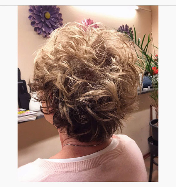 Curly-Pixie New Best Short Haircuts for Women