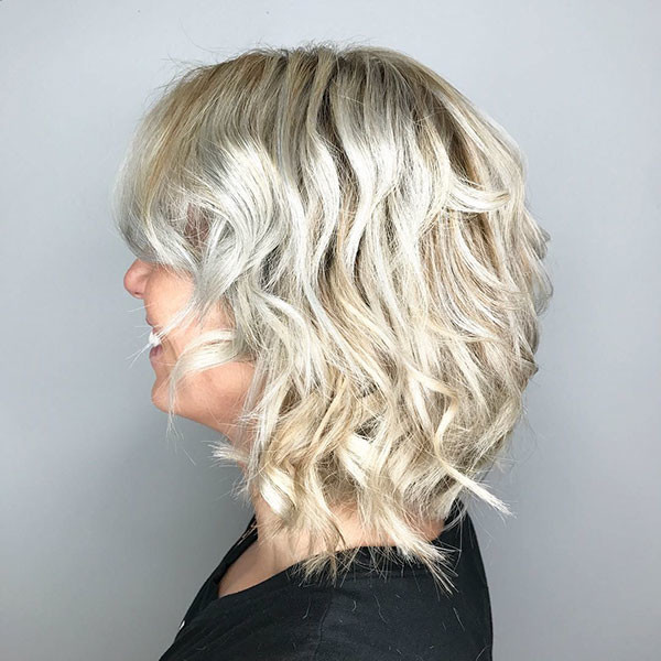 Curly-Wavy-Bob New Best Short Haircuts for Women
