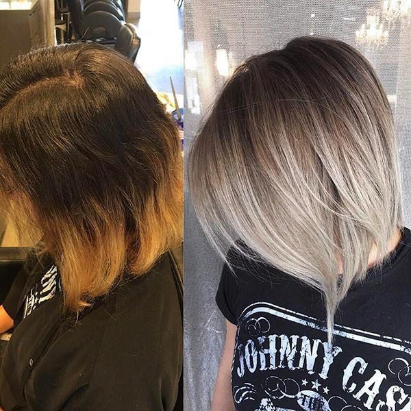 Cute-Blonde-Bob Popular Bob Hairstyles 2019