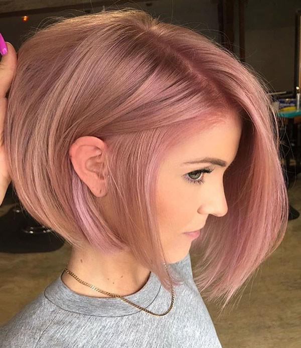 Cute-Blonde-Hair Popular Bob Hairstyles 2019