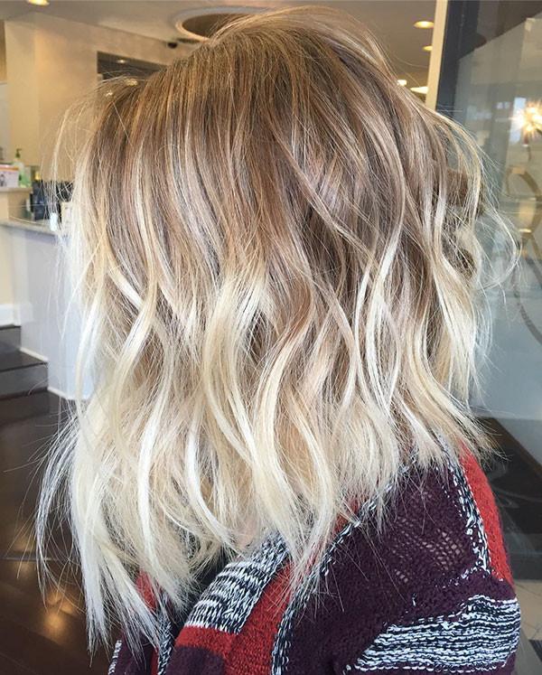 Cute-Ombre Best Short Wavy Hair Ideas in 2019