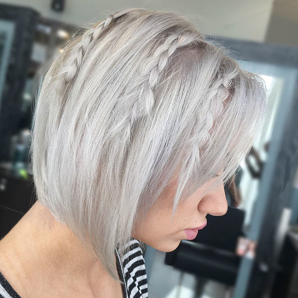 Easy-Hair-Style Amazing Braids for Short Hair