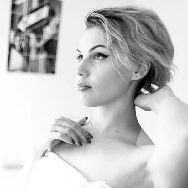 Easy-Hairstyle-for-Short-Hair Wedding Hairstyles for Short Hair 2019