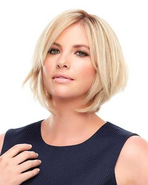 Easy-Short-Hairstyle Best Short Fine Hairstyles Women 2019