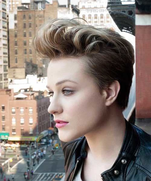 Evan-Rachel-Wood-Pixie-Hair-Cut Attractive Pixie Haircuts for Beautiful Women
