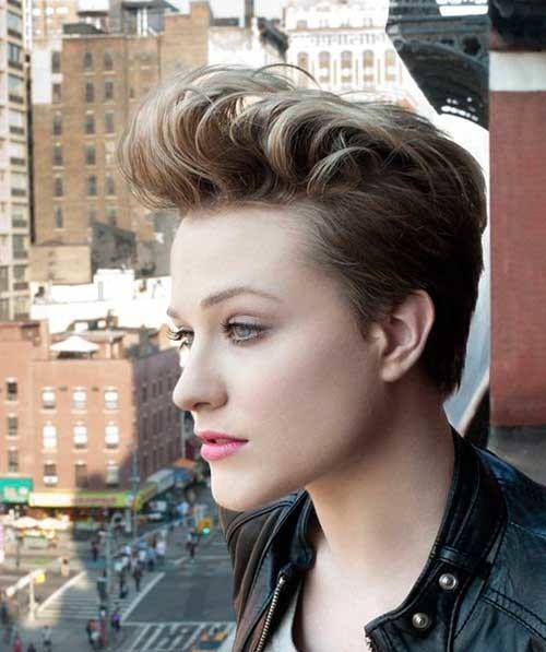 Evan-Rachel-Wood-Pixie-Hair-Cut Attractive Pixie Haircuts for Beautiful Women