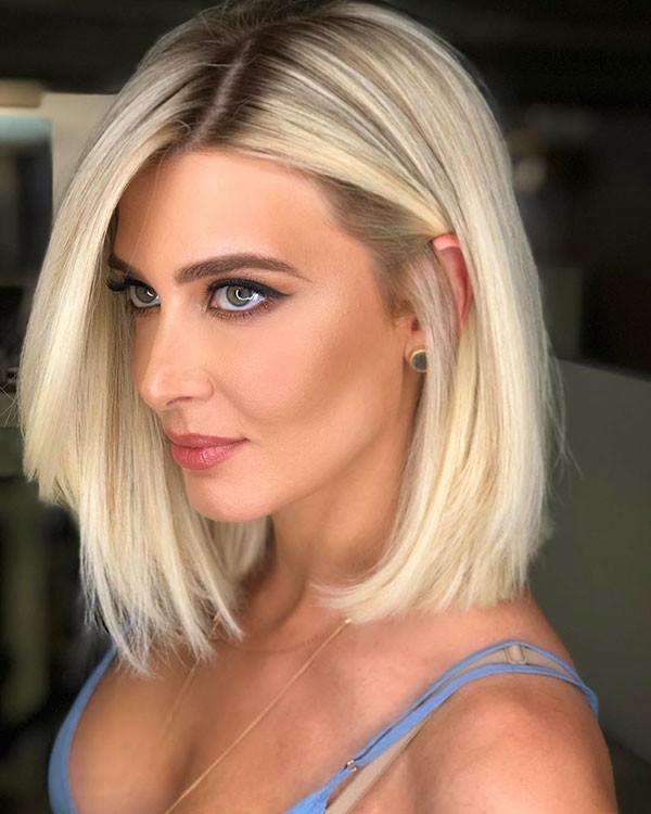 Fine-Short-Hairstyle New Short Blonde Hairstyles