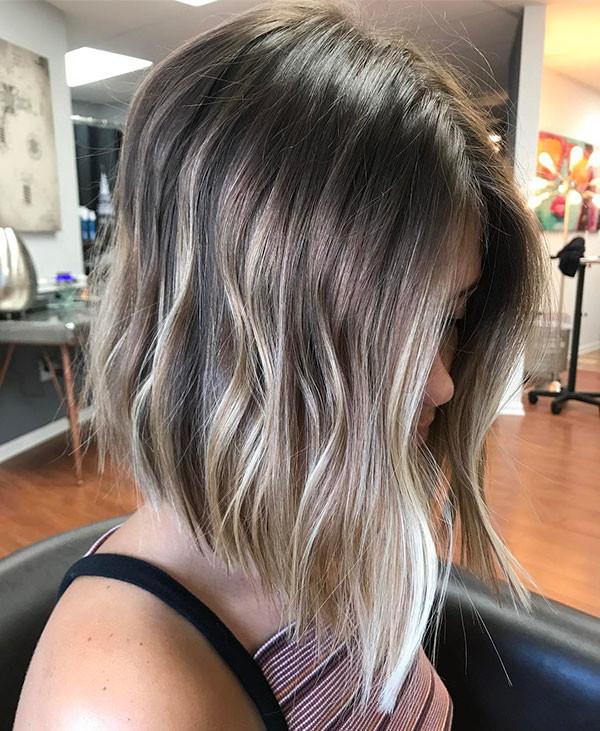 Fine-Wavy-Hair Popular Short Hairstyles for Fine Hair