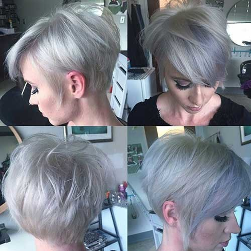 Great-Hair-Color Attractive Pixie Haircuts for Beautiful Women