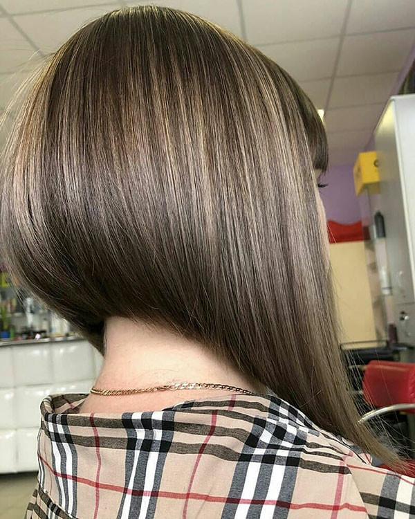Inverted-Bob-Hair-Style Popular Bob Hairstyles 2019